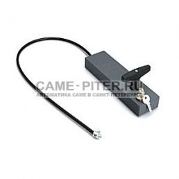 Ручка для разблокировки привода с ключом и тросом для внешней установки  / трос 7 метров /.