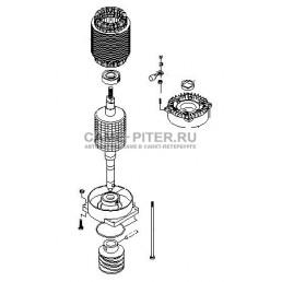 Электродвигатель ВК 1200Р