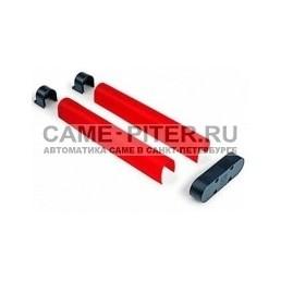 Накладки резиновые на стрелу 4м для шлагбаума Gard 4000